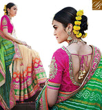 FROM STYLISH BAZAAR GORGEOUS HEAVILY EMBROIDERED SAREE BLOUSE DESIGN FOR MARRIAGES RTDUL33A