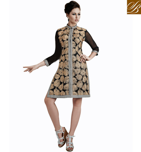 LATEST INDIAN TUNIC TOPS KURTIS FOR COLLEGE GIRLS VDETC33