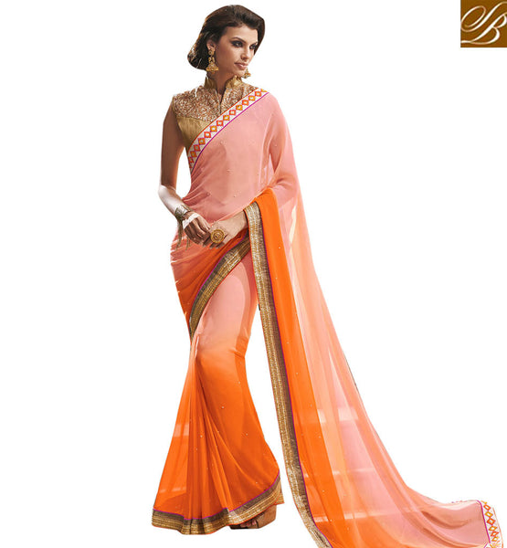 STYLISH BAZAAR INTRODUCES PHENOMENALLY DESIGNED OCCASION WEAR SAREE VDCHP37008