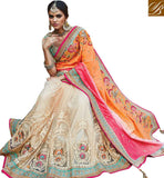 STYLISH BAZAAR INTRODUCES WONDERFULLY DESIGNED DESIGNER SARI STYLED FOR WEDDINGS AND RECEPTIONS RTDUL38