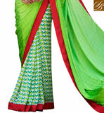 TIP TOP INDIAN ONLINE SHOPPING BEAUTIFUL FLORAL PRINT AT LOWER PART AND JAQCUARD WEAVING PALLU WITH LACE BORDER WORK SAREE BLOUSE DESIGNS LATEST AND GOOD-LOOKING INDIAN WEAR ONLINE