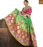 FROM THE HOUSE  OF STYLISH BAZAAR BRILLIANTLY COLORED AND DESIGNED SAREE BLOUSE PATTER FOR WEDDINGS RTDUL39
