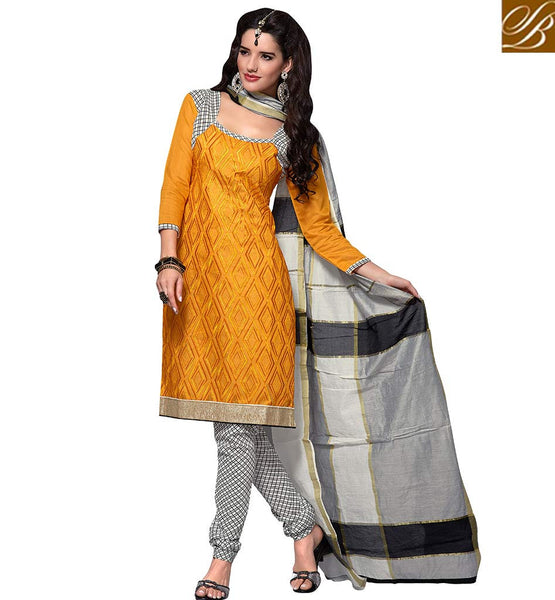 FROM STYLISH BAZAAR FASHIONABLE SALWAAR KAMEEZ STRAIGHT CUT PATTERN VDBLS3904