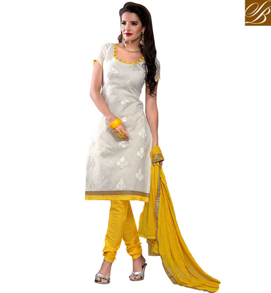 STYLISH BAZAAR ATTRACTIVELY DESIGNED STRAIGHT CUT PUNJABI SUIT VDBLS3907