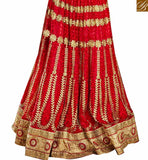 FROM THE HOUSE OF STYLISH BAZAAR STYLISH BAZAAR PLEASING MAROON NET DESIGNER LEHENGA CHOLI WITH HEAVY EMBROIDERY WORK SLGAJ396B