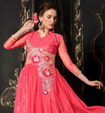 BEST PRICE OFFER ON DESIGNER DUSTY PINK GOWN