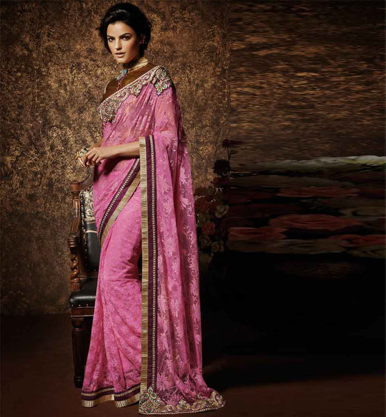 DESIGNER SAREES ONLINE SHOPPING WITH PRICE LATEST GOLDEN ARTSILK BLOUSE PHOTO