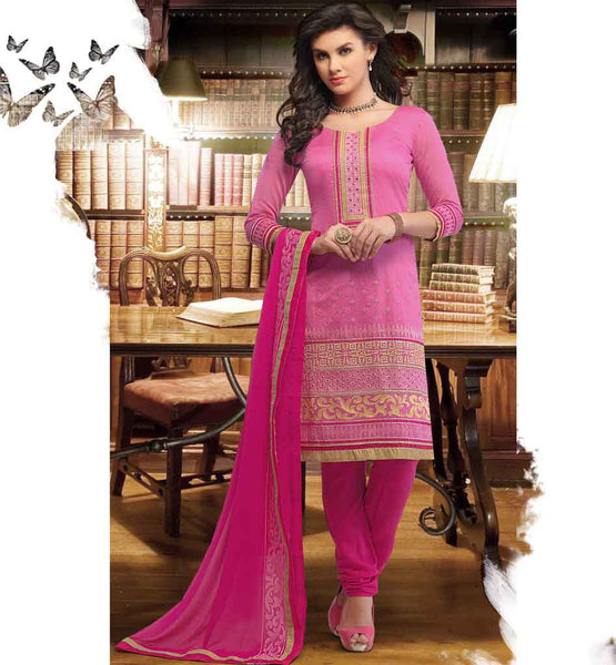 SHOP STRAIGHT PATTERN OFFICE WEAR SALWAR SUIT DUPATTA FOR LADIES