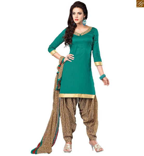 STYLISH BAZAAR GRACEFUL PATIALA SALWAR KAMEEZ INDIA ONLINE SHOPPING RTEVO4003