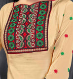 BEIGE KURTI WITH PATIALA SALWAR VDWON4003 STYLISHBAZAAR SHOP ONLINE BEST ECOMMERCE SHOPPING WEBSITE