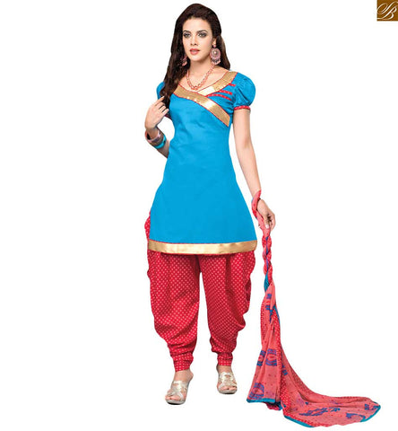STYLISH BAZAAR PRETTY LADIES PATIALA SALWAR DRESS DESIGN RTEVO4004