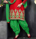 RED KURTI WITH PATIALA SALWAR VDWON4004 STYLISHBAZAAR SHOP ONLINE BEST  ECOMMERCE  SHOPPING WEBSITE