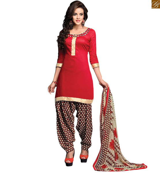 STYLISH BAZAAR RAVISHING ONLINE LATEST PATIALA SALWAR DRESS SUIT RTEVO4006