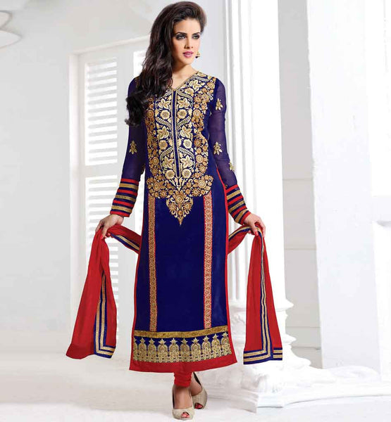 STYLISH BAZAAR TRENDY KARACHI PATTERN PARTY WEAR SALWAR KAMEEZ