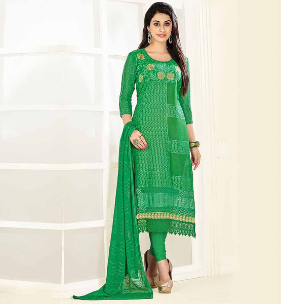 PUNJABI STYLE SALWAR KAMEEZ WITH NAZNEEN DUPATTA GORGEOUES ALL GREEN DRESS WITH SOFT LAWN COTTON KAMEEZ WITH COMFORTABLE SALWAR AND NAZNEEN DUPATTA