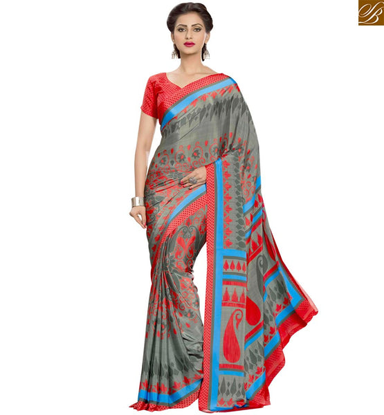 FROM THE HOUSE  OF STYLISH BAZAAR ADMIRABLE DESIGNER PARTY WEAR SARI BLOUSE RTPAL402