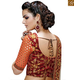 STYLISH BAZAAR PRESENTATION STARING MULTICOLORED CHIFFON SAREE NKFM4035