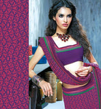 BUY CASUAL SARIS OFFICE WEAR PINK PRINTED CASUAL WEAR SAREE RTKAL404B