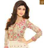 DESIGNER SALWAR KAMEEZ PATTERNS COMES WITH STONE WORK DUPATTA EMBROIDERY WORK ON TOP, STONEWORK ON YOKE, BACK AND SLEEVES
