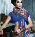 PRINTED CASUAL WEAR SAREE RTKAL408A