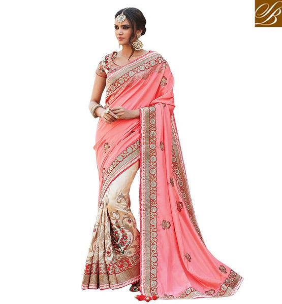 STYLISH BAZAAR AMAZING DESIGNER SARI FOR WEDDINGS AND SPECIAL OCCASIONS RTDUL40