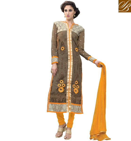 BROUGHT TO YOU BY STYLISH BAZAAR GLAMOROUS DESIGNER PAKISTANI STYLE SALWAAR SUIT DESIGN VDADT4108