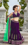 bridal velvet chaniya choli buy online