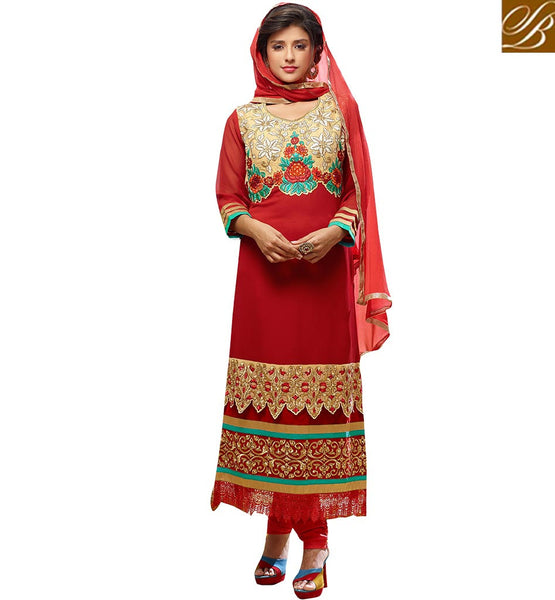 BROUGHT TO YOU BY STYLISH BAZAAR FASCINATING DESIGNER PAKISTANI STYLE PUNJABI SUIT DESIGN VDADT4118