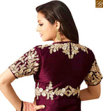 BROUGHT TO YOU BY STYLISH BAZAAR SHOP MAROON AND PEACH SILK NET DESIGNER SUITS FROM STYLISH BAZAAR LTNT41262