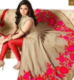 STYLISH BAZAAR INTRODUCES BUY DRASTI DHAMI ANARKALI SUITS FROM STYLISH BAZAAR WITH FLORAL WORK LTNT41264