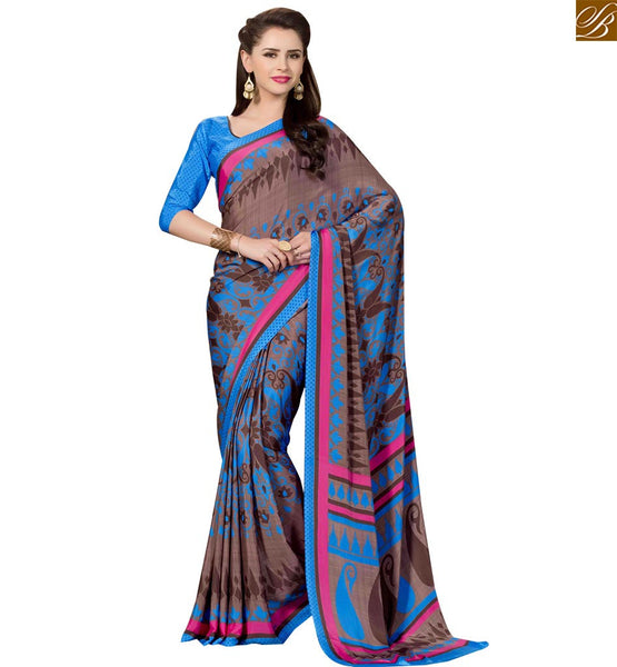 STYLISH BAZAAR PHENOMENAL PARTY WEAR DESIGNER PRINTED SAREE RTPAL415