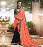 SAREE BLOUSE DESIGNS 2015 FASHION EVER STYLISH PARTY WEAR SARIS