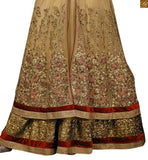 FROM THE HOUSE OF STYLISH BAZAAR DESIGNER ROYAL BEIGE COLORED EMBROIDERED SALWAR SUIT RTVSN4201