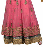 STYLISHBAZAAR PRICESS LOOK DESIGNER PINK SALWAR KAMEEZ FOR PARTY WEAR RTVSN4204
