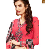 APPEALING PINK COTTON EMBROIDERED PATIALA SUIT WITH PRINTED SALWAR AND DUPATTA MNJ42586