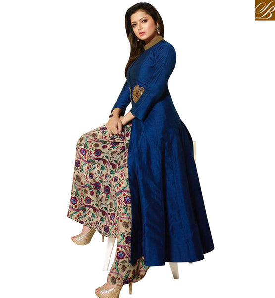 STYLISH BAZAAR MADHUBALA DRASHTI DHAMI MARVELOUS NEW DESIGNER PLAZZO SUIT LTNT91004
