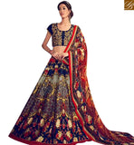 STYLISH BAZAAR PRESENTS OUTSTANDING DIGITAL PRINTED LEHNGA CHOLI WITH DESIGNER BLOUSE KHW14006
