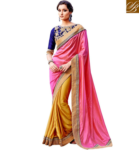 FROM STYLISH BAZAAR LOVELY DESIGNER PARTY WEAR SARI VDSPR46025