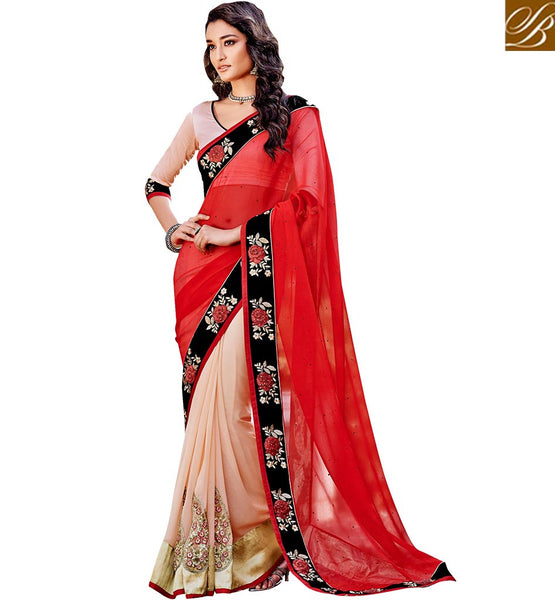 STYLISH BAZAAR PRESENTS BEWITCHING PARTY WEAR DESIGNER SARI VDSPR46033