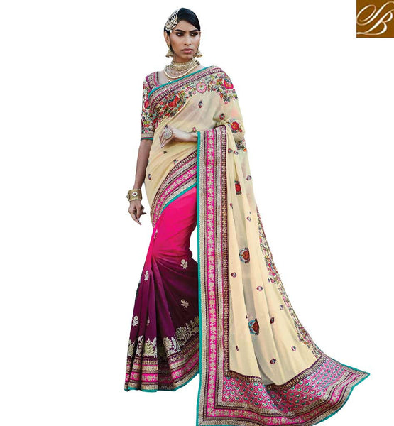 BROUGHT TO YOU BY STYLISH BAZAAR ULTIMATE WEDDING WEAR SAREE BLOUSE DESIGN RTDUL46