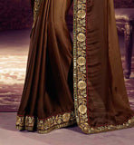 AMAIRA COLLECTION SHADED SARI WITH RICH BORDER ONLINE WEDDING SAREES SHOPPING BOLLYWOOD STYLE