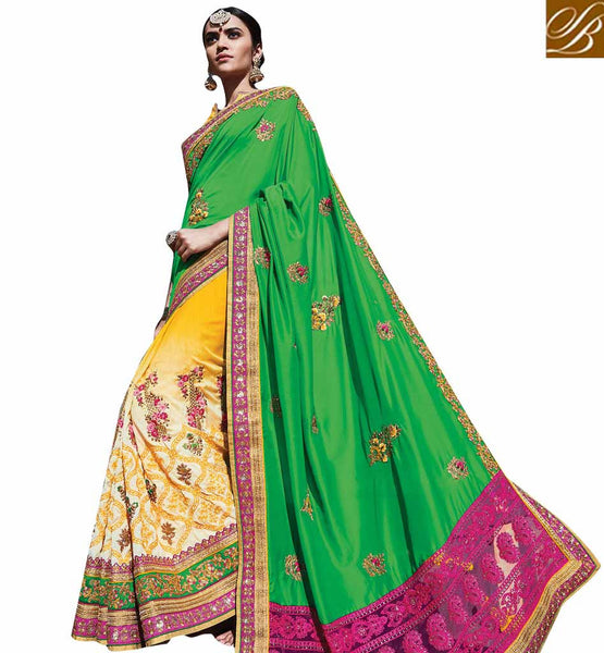 FROM STYLISH BAZAAR EXCLUSIVE DESIGNER SAREE SPECIALLY CRAFTED FOR SPECIAL OCCASIONS RTDUL47