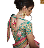 STYLISH BAZAAR PRESENTS FASHIONABLE WEDDING WEAR SARI BLOUSE DESIGN RTDUL48