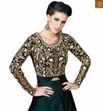 FROM STYLISH BAZAAR BREATHTAKING DESIGNER SUIT WITH ATTRACTIVE EMBROIDERED WORK SLSWT4802