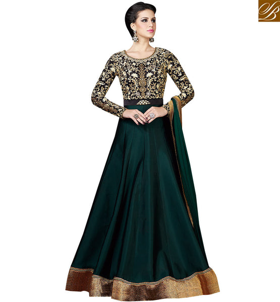 STYLISH BAZAAR  BREATHTAKING DESIGNER SUIT WITH ATTRACTIVE EMBROIDERED WORK SLSWT4802