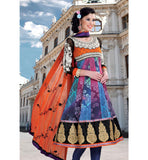TRENDY PRINTED MULTICOLOR CHURIDAR SALWAR KAMEEZ RTDV48A - stylishbazaar - online shopping salwar kameez, salwar kameez online shop, shop for salwar kameez online, online shopping designer salwar kameez, salwar suit online, Diwali Shopping, Deepawali Shopping, Diwali 2014, Festive Trends 2014