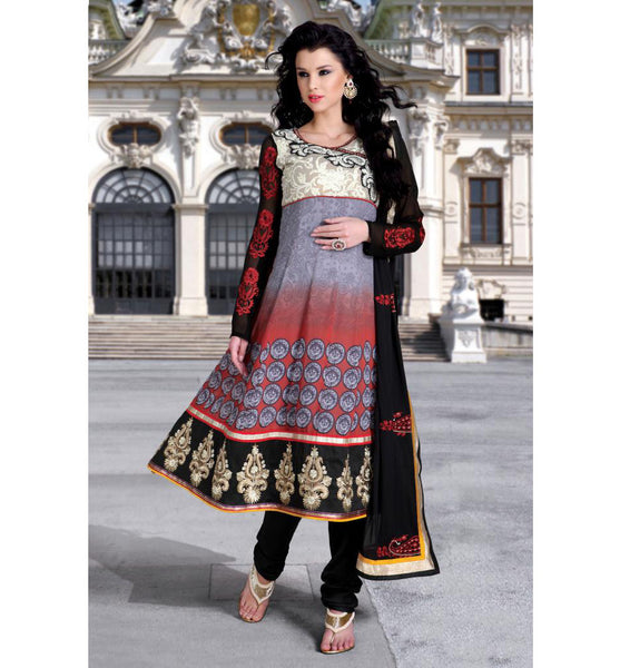 COOL DESIGNER CHURIDAR SALWAR KAMEEZ RTDV49B  - StylihBazaar - Diwali Shopping, Deepawali Shopping, Diwali 2014, Festive Trends 2014, Anarkali suits online shopping, Anarkali dresses online shopping, Churidar Anarkali online shopping, online shopping anarkali suit, anarkali suits shopping online