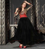 BUY FRESH DESIGN FLOOR LENGTH FROCK STYLE GOWN AT REDUCED PRICE
