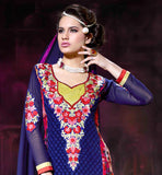 BUY ONLINE DESIGNER STRAIGHT CUT SALWAR SUIT FREE SHIPPING IN INDIA