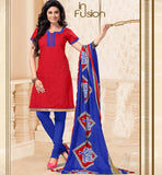 COOL CHANDERI COTTON WOMEN SALWAR KAMEEZ